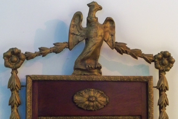 Detail of a Plaster Eagle. American. ca. 1810