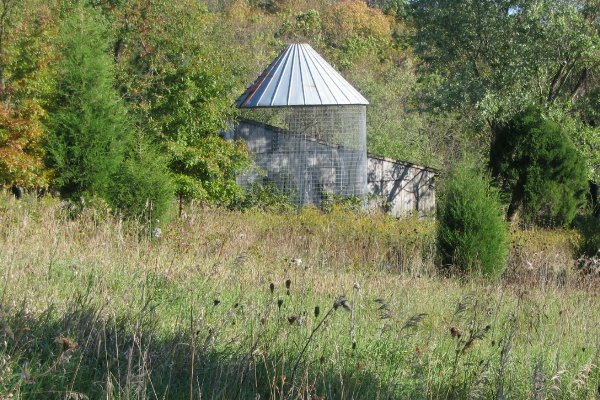 Corn crib - West Pasture