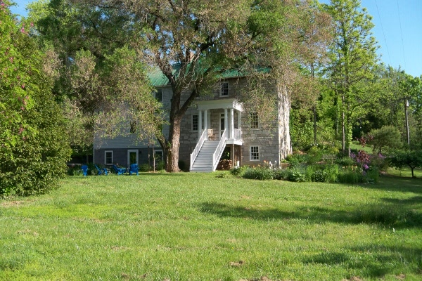 Stone House - south lawn